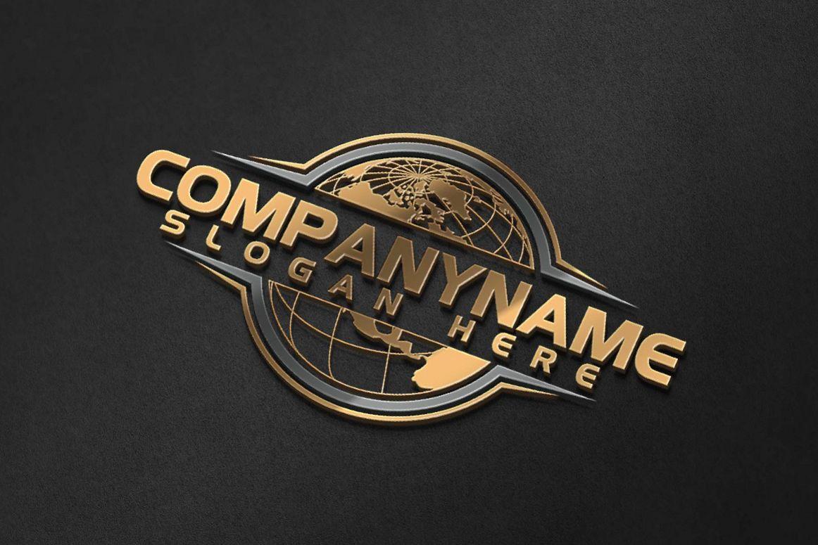 global, globe, world, worldwide logo example image 1