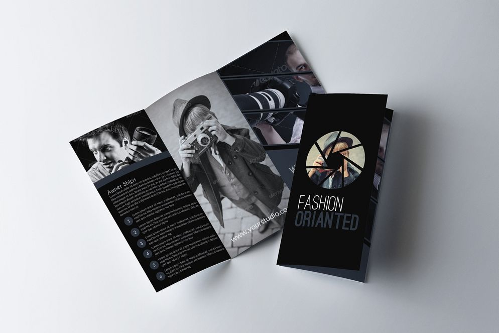 Photography Business Trifold Brochurs example image 1