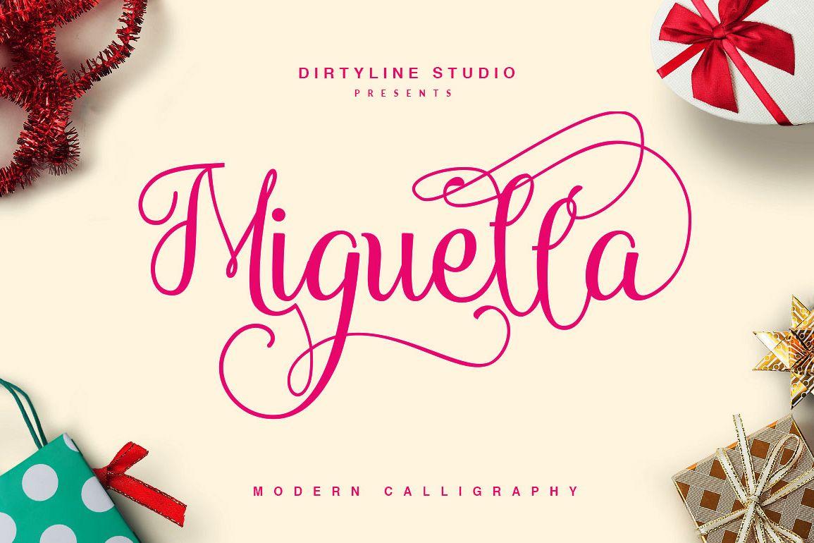 Miguella Script example image 1