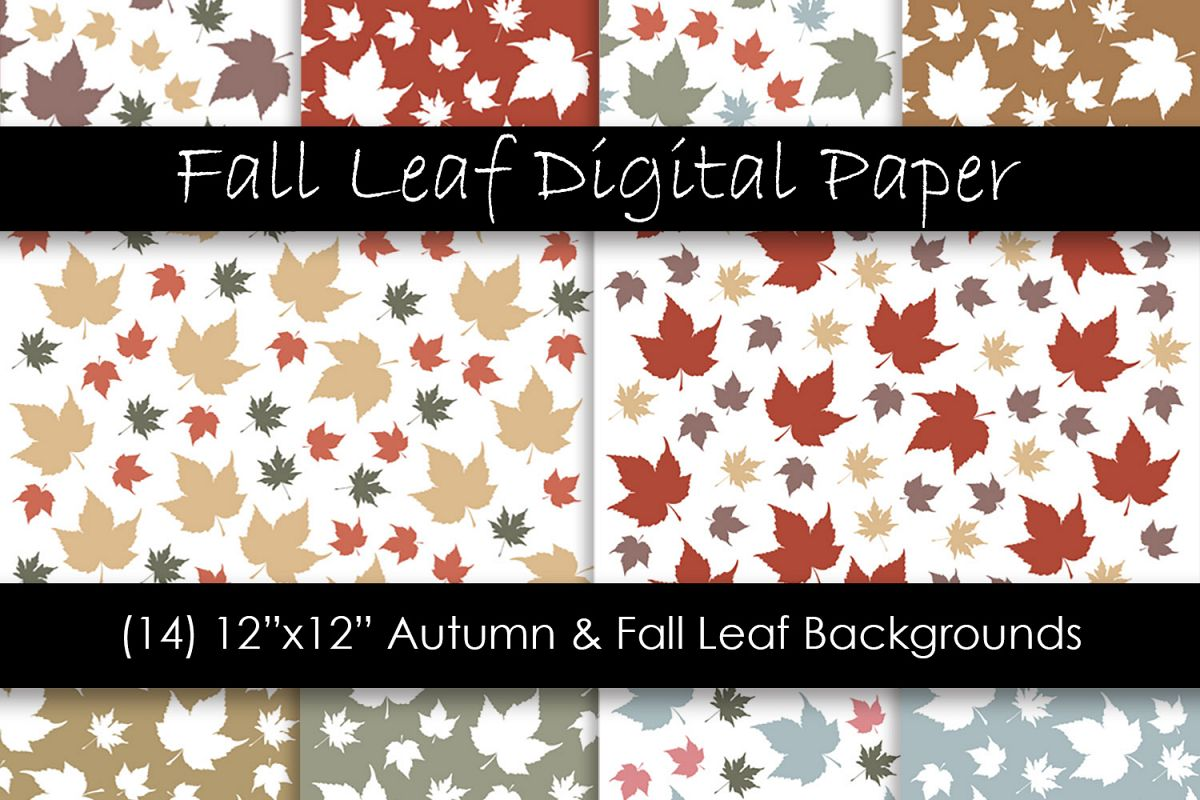 - Autumn & Fall Leaf Backgrounds - Fall Leaf Patterns (361279