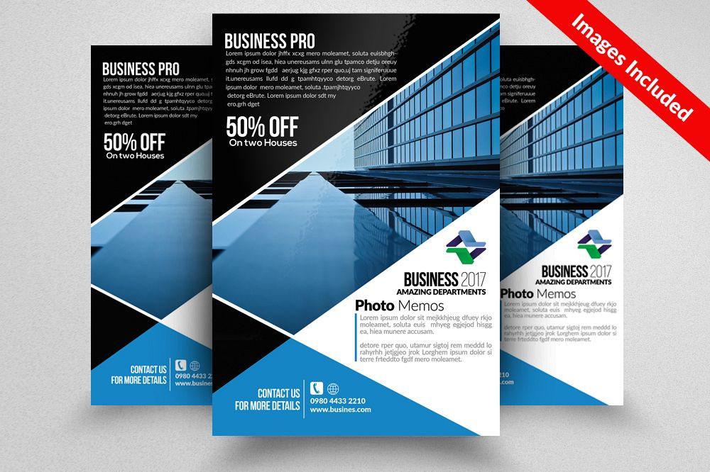 Downtown Apartment Flyer Templates