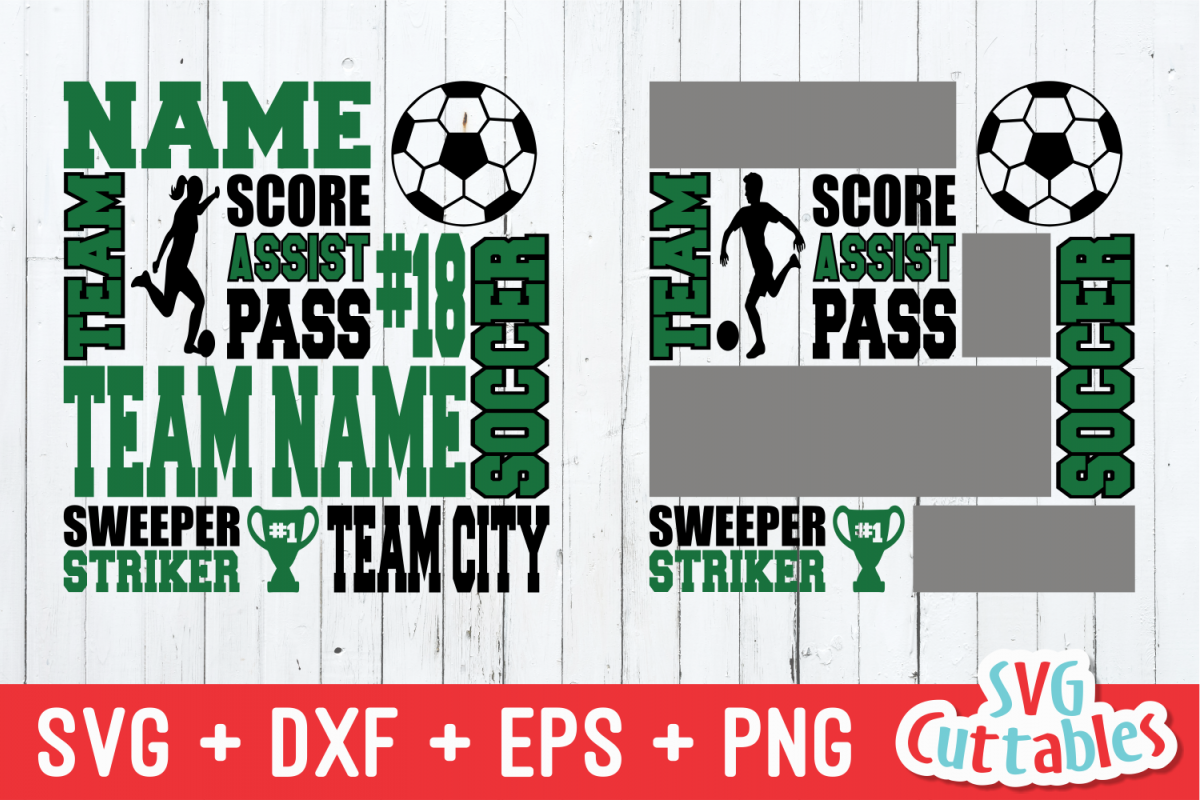 Soccer svg, Soccer Subway Art svg cut file example image 1