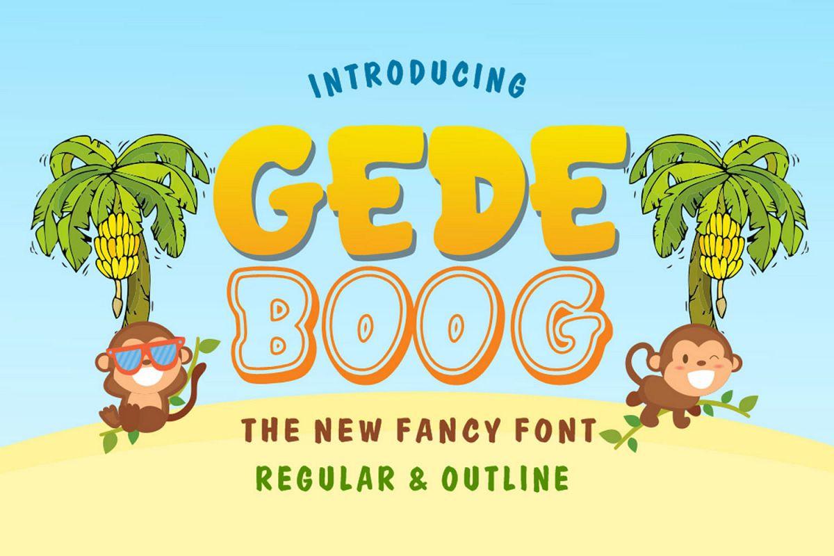 Gedeboog example image 1