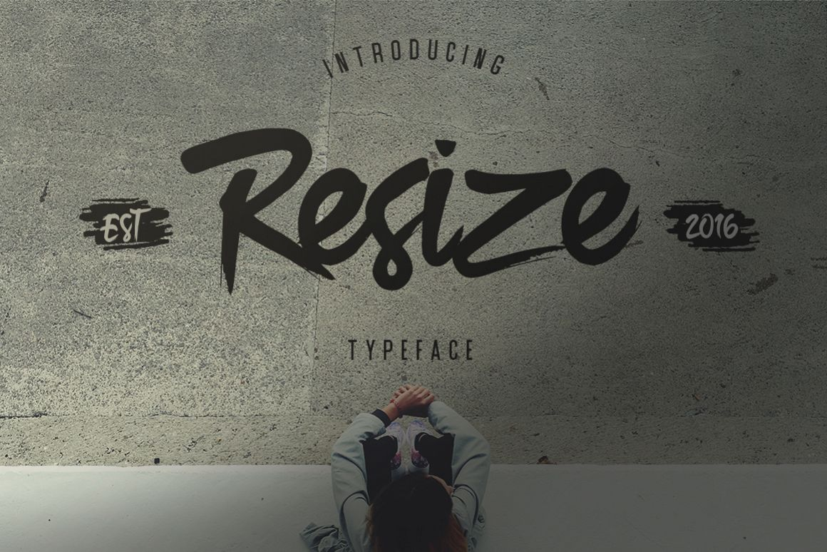 Resize Typeface example image 1