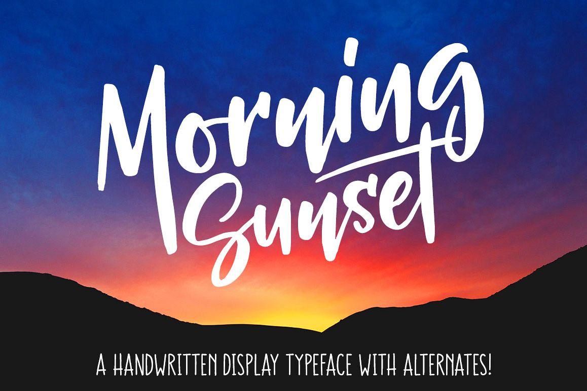 Morning Sunset - header image