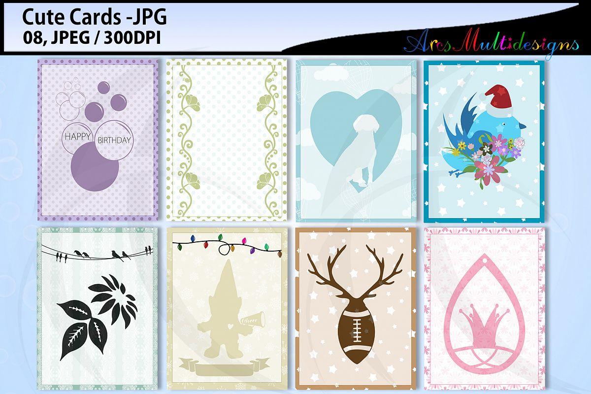 E cards mini bundle example image 1