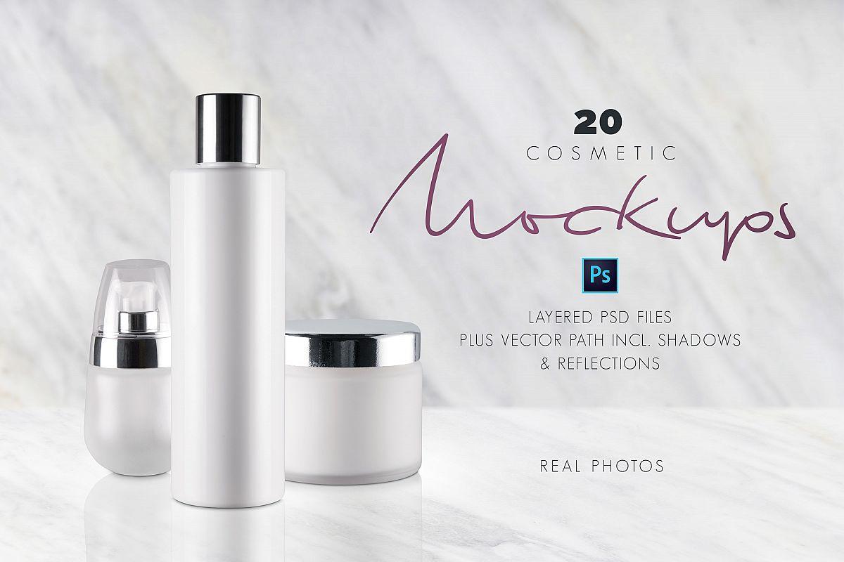 20 Cosmetic Mockups example image 1