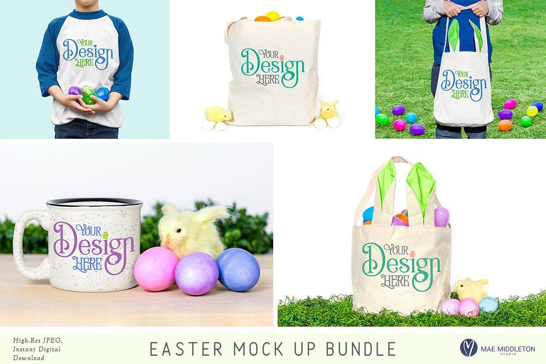 Easter Mock up Bundle example image 1