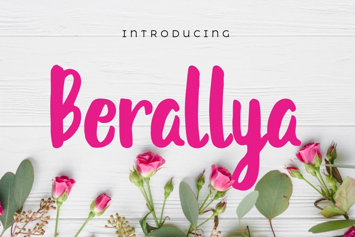 Berallya example image 1