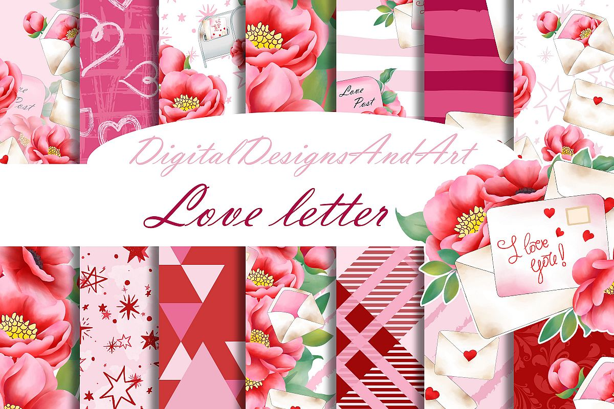 Love letter pattern example image 1