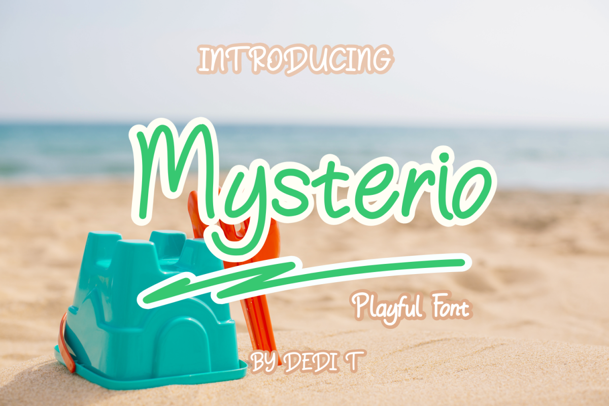 Mysterio Fun Font example image 1