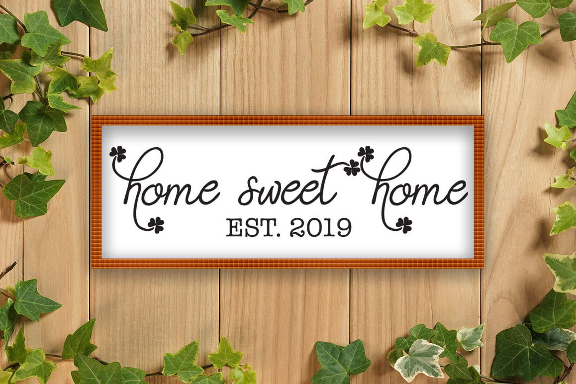 Home Sweet Home SVG example image 1