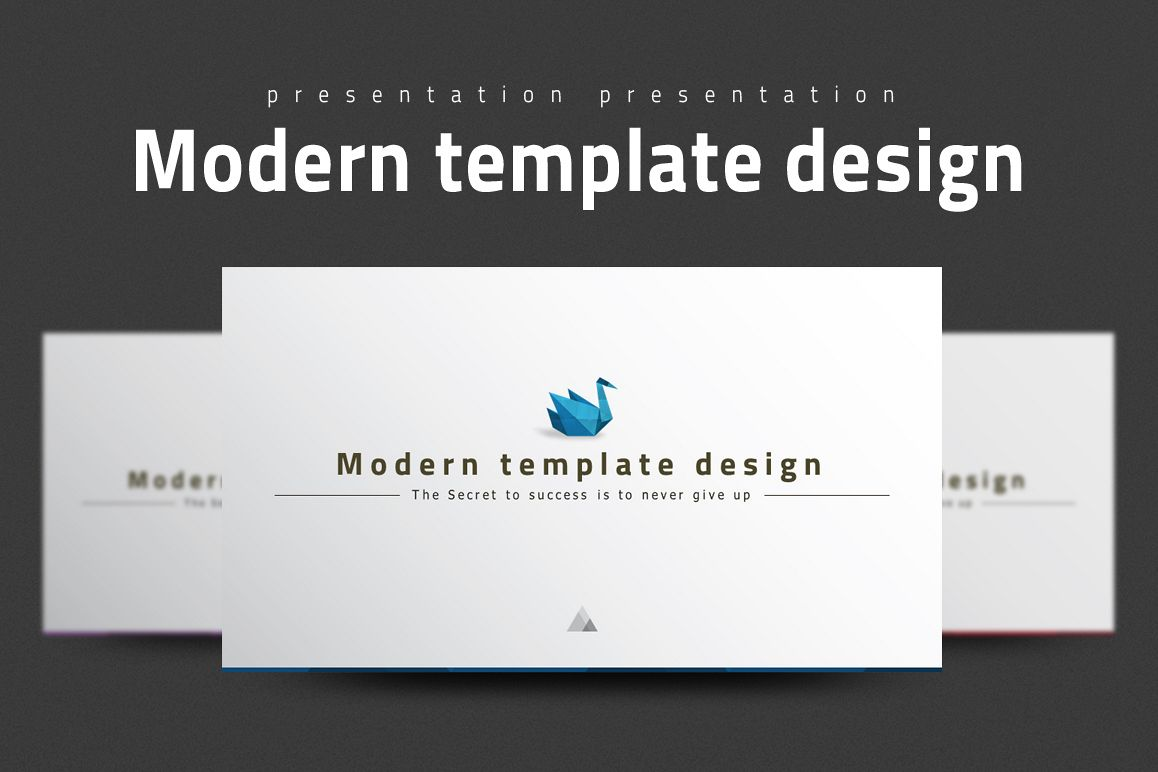 Modern Powerpoint Template example image 1