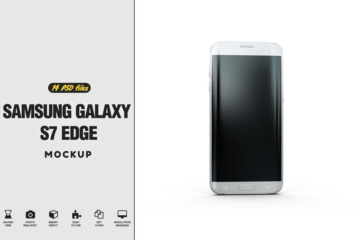 Samsung Galaxy S7 Edge Mockup example image 1