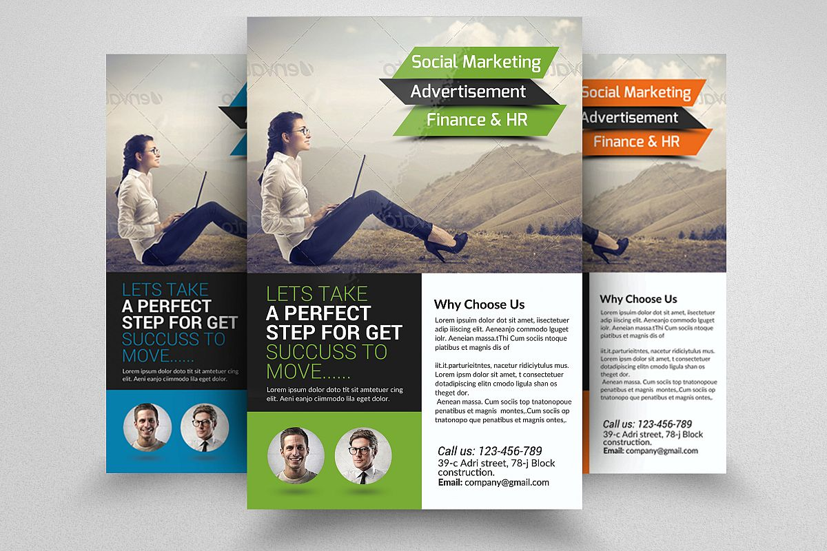 Business Solution Consultant Flyers  example image 1