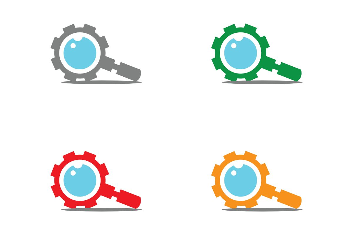 gear research logo example image 1