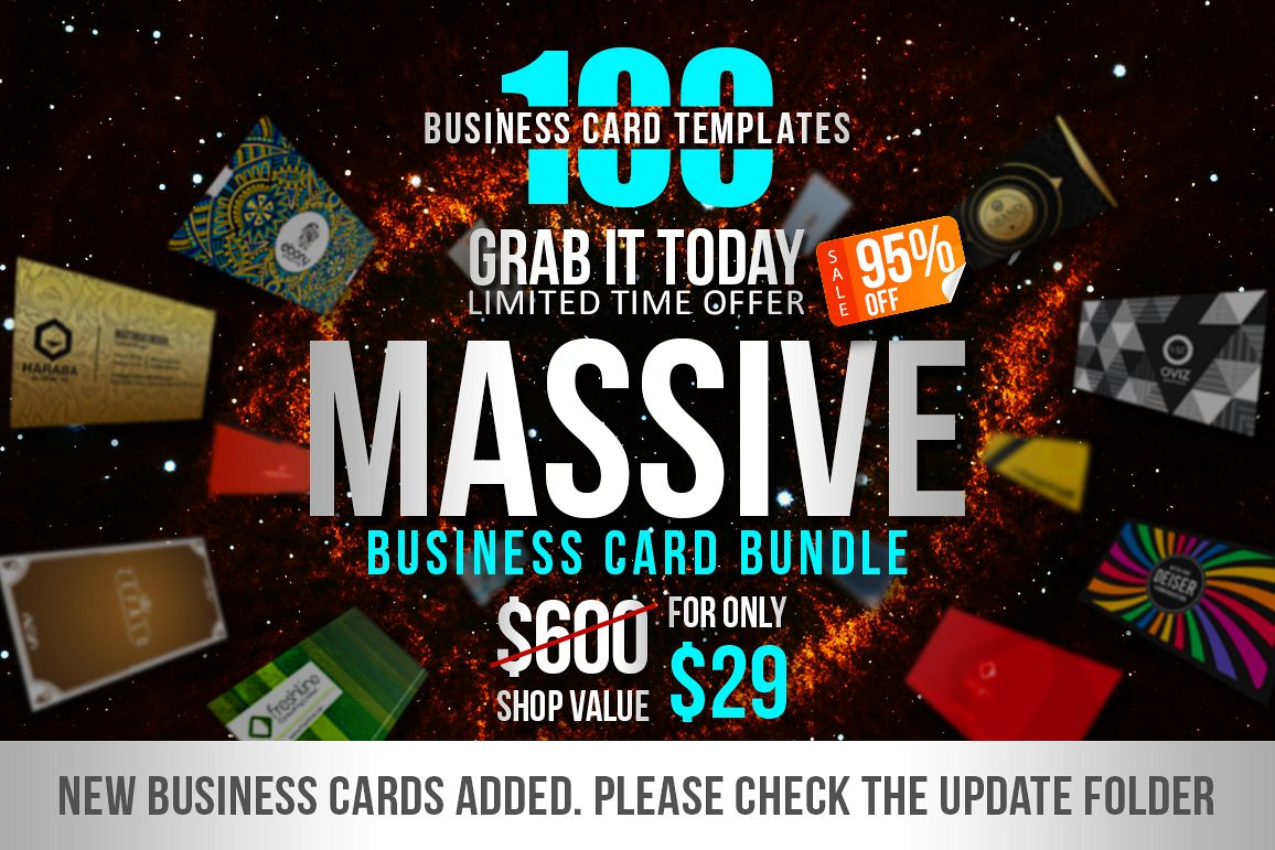 100 Massive Business Card Bundle example image 1