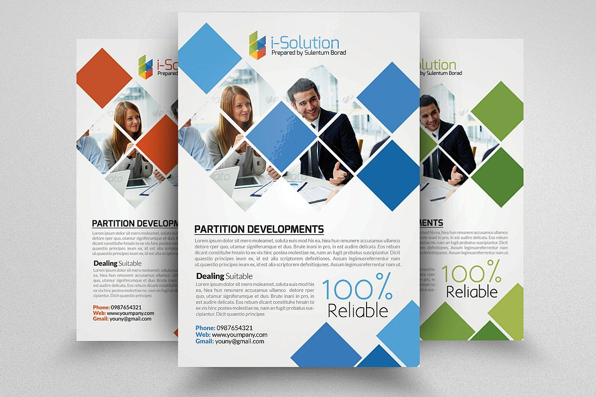 Business Motivator Flyer Template example image 1