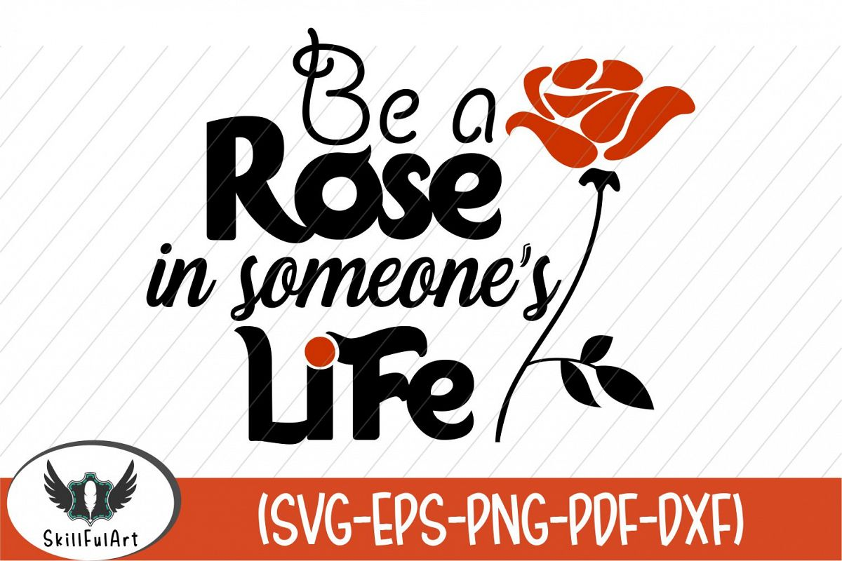 rose, be a rose, quote example image 1