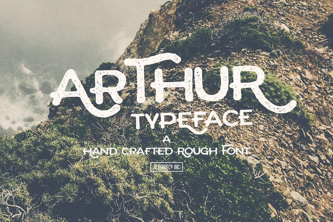 Arthur Typeface example image 1
