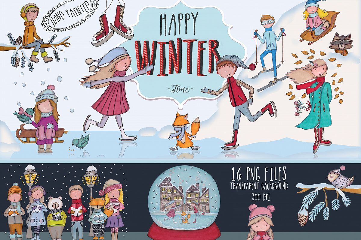 Happy Winter Time! example image 1