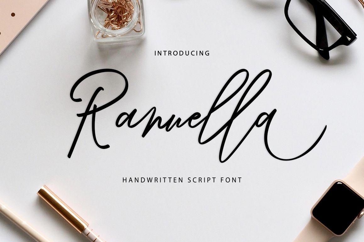 Ranuella Script example image 1