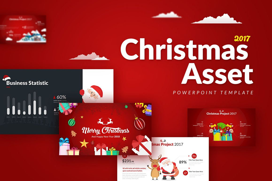 Christmas Asset - Powerpoint Template example image 1