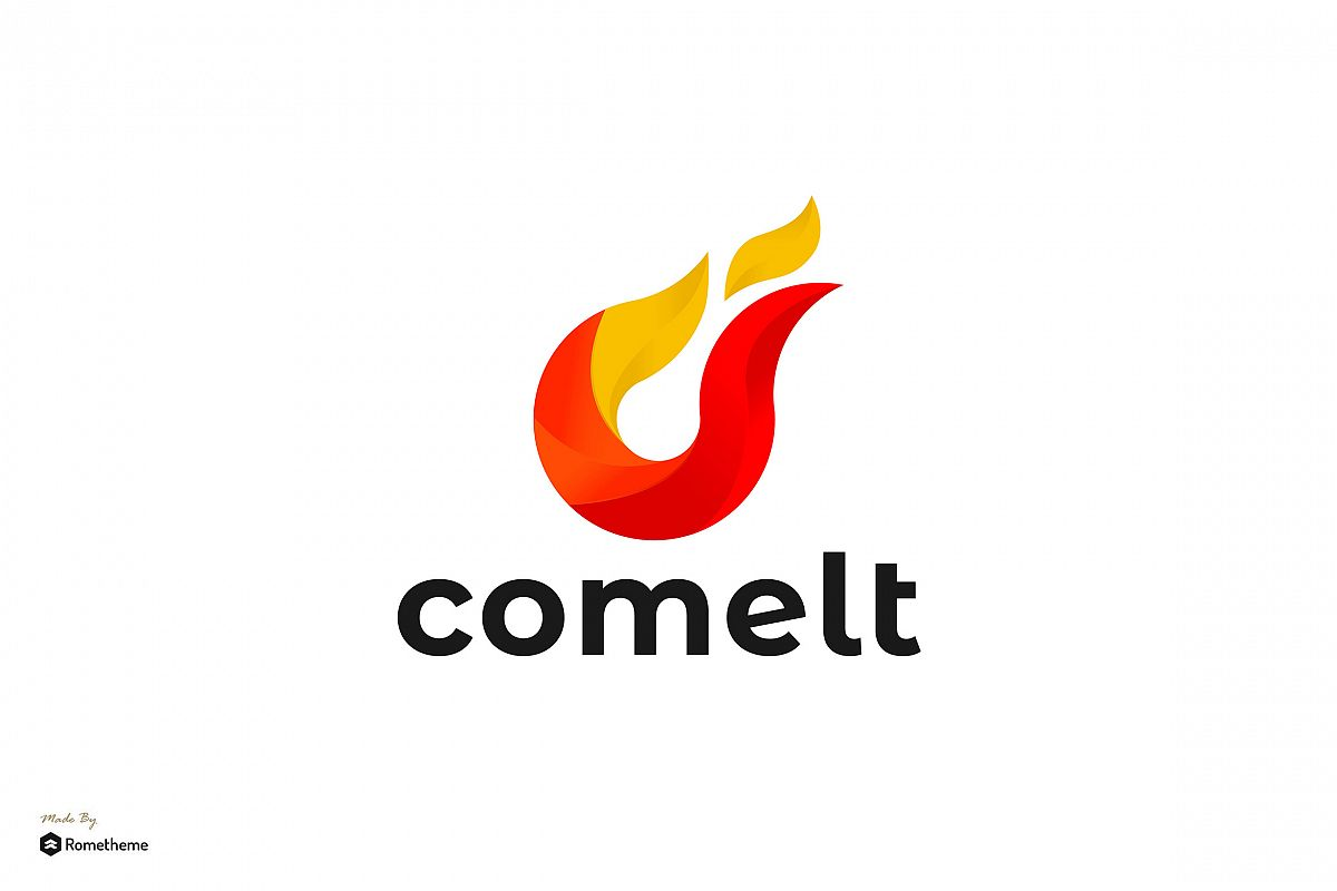 Comelt - Logo Template RB example image 1