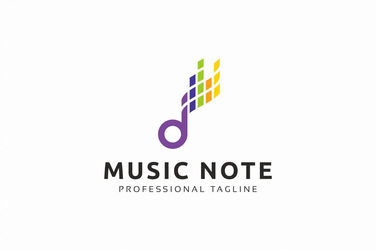 Music Note Logo example image 1