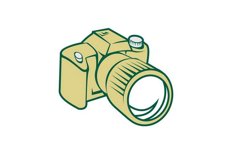 Camera DSLR Retro example image 1
