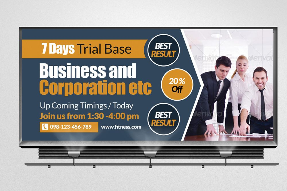 Business Agency Billboard Banners example image 1