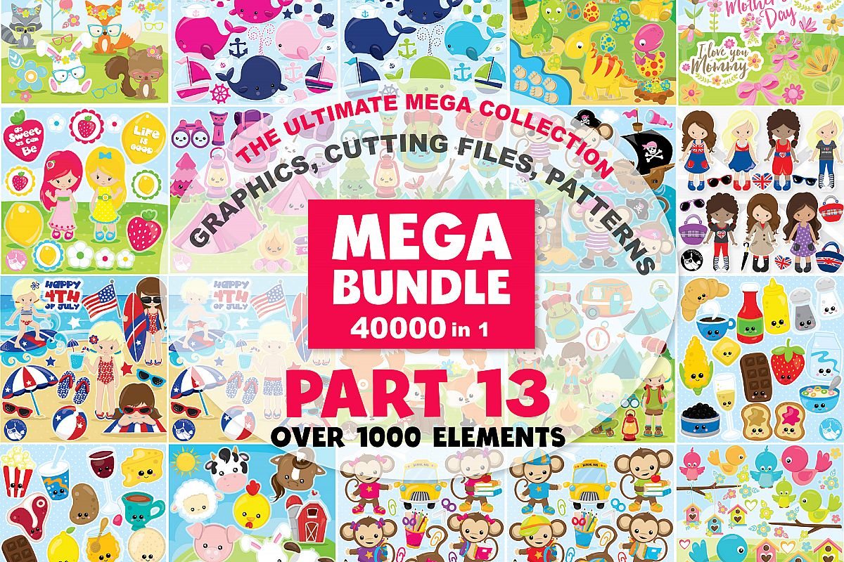 MEGA BUNDLE PART13 - 40000 in 1 Full Collection example image 1