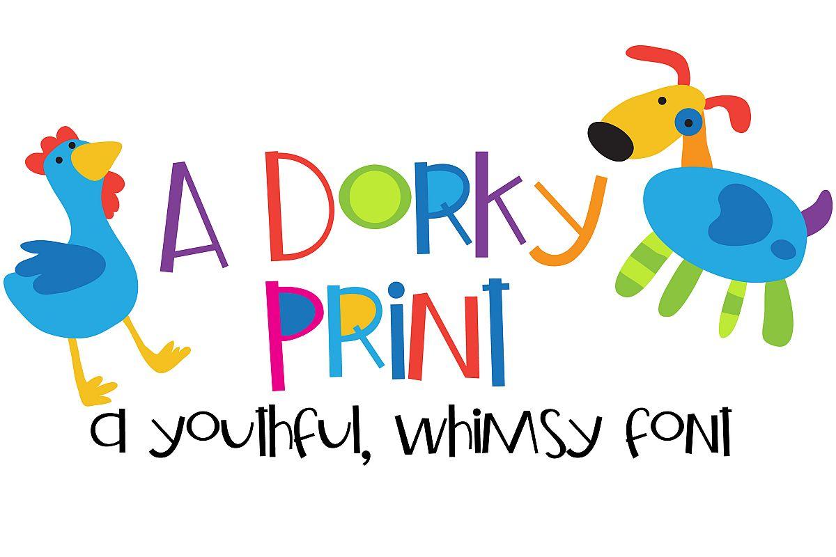 ZP A Dorky Print example image 1