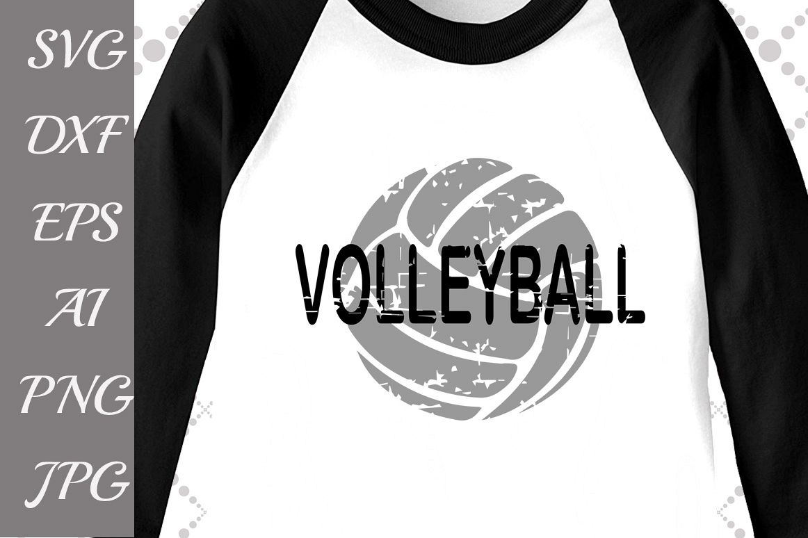 Volleyball Svg example image 1