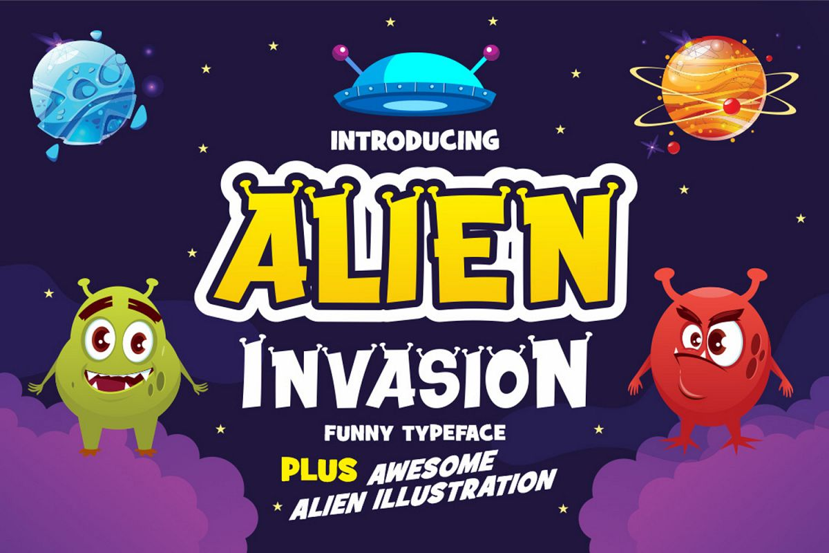 Alien Invasion example image 1
