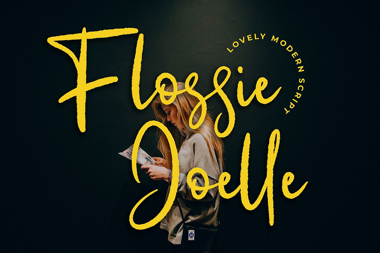 Flossie Joelle Modern Script Font example image 1