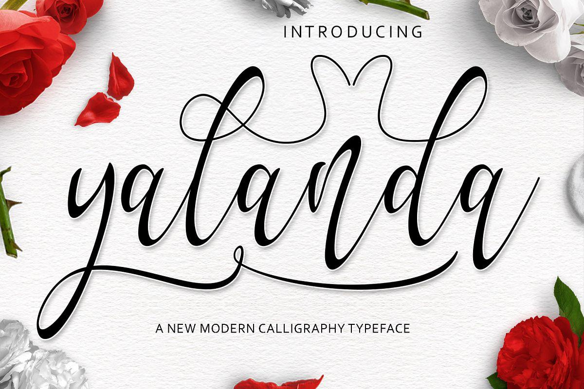 Yalanda Script example image 1