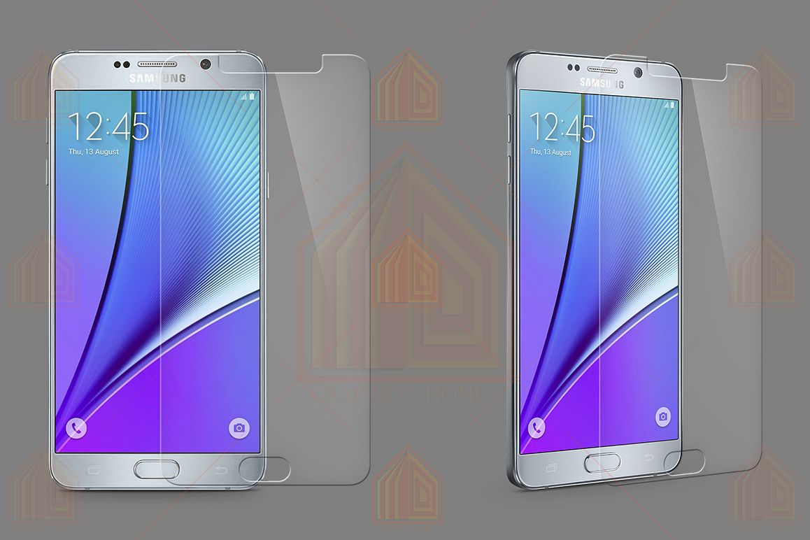 Samsung Galaxy Note 5 Tempered Glass Template example image 1