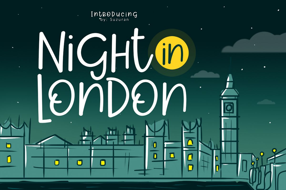 Night in London example image 1