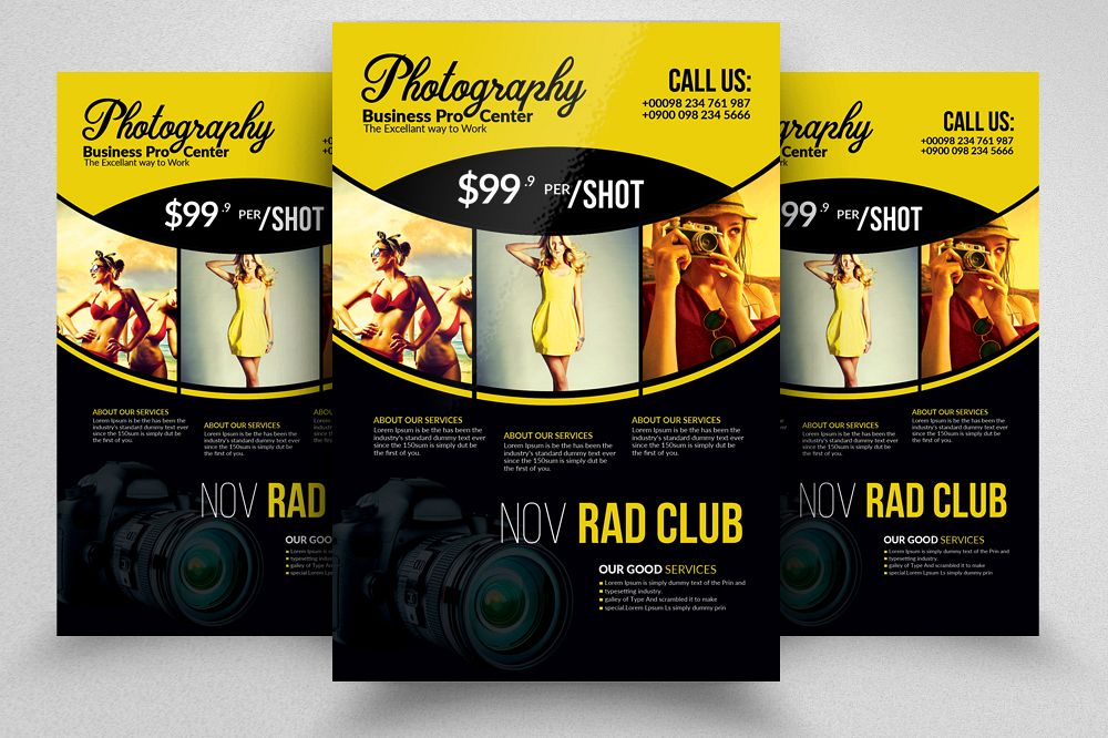 Professional Photography Flyer Template example image 1
