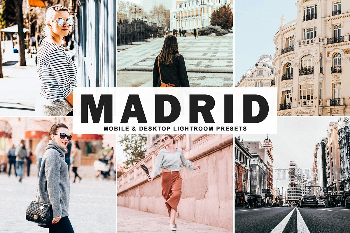 Madrid Mobile & Desktop Lightroom Presets example image 1