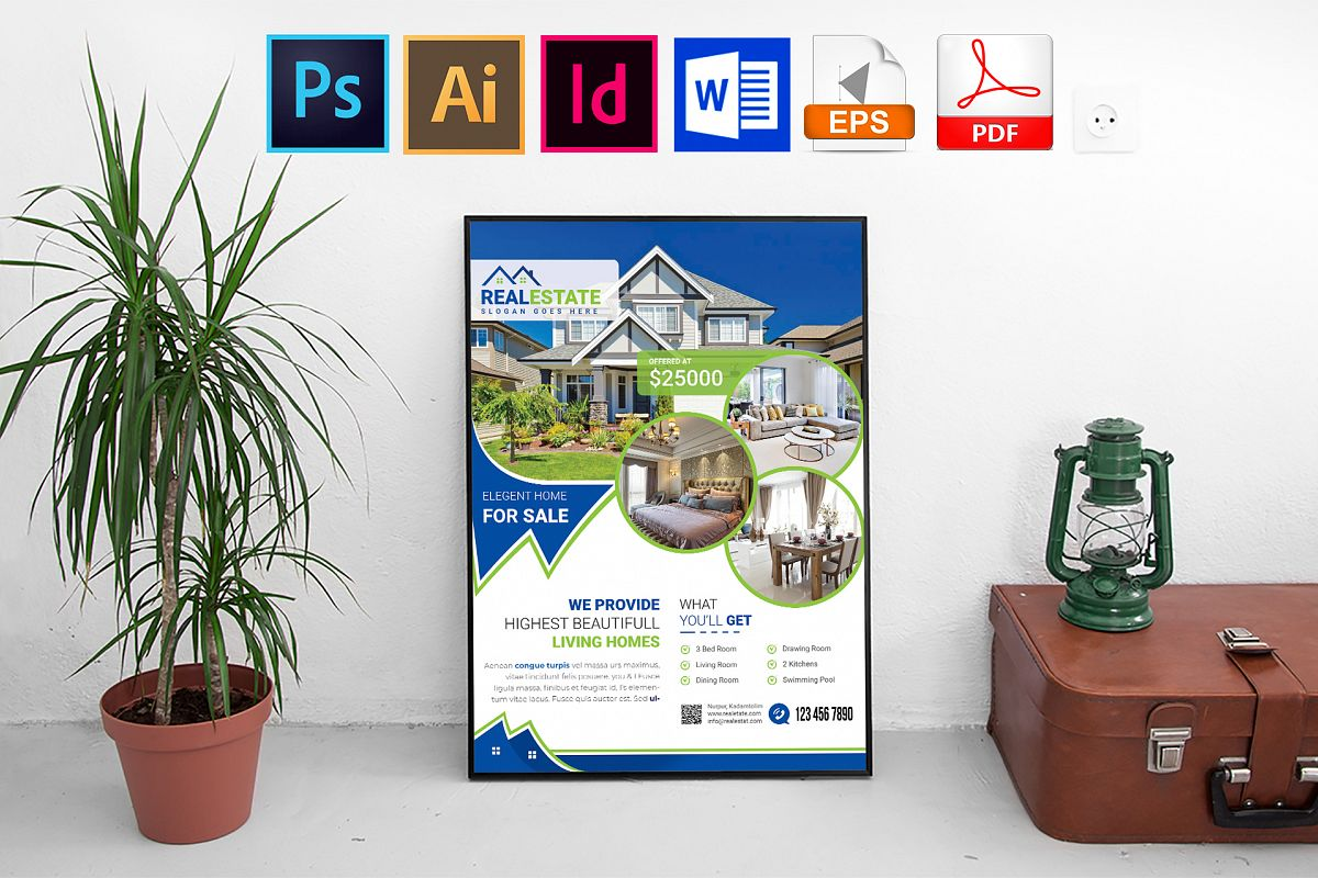 Poster |Real Estate Vol-02 example image 1