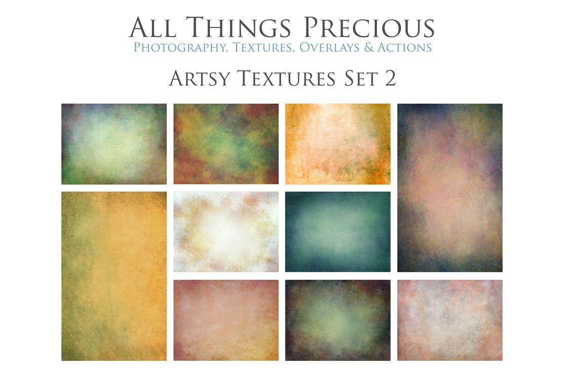 10 Fine Art Artsy Textures SET 2 example image 1