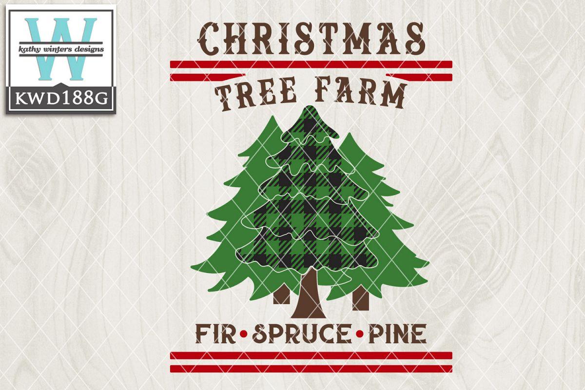 Christmas SVG - Christmas Tree Farm example image 1