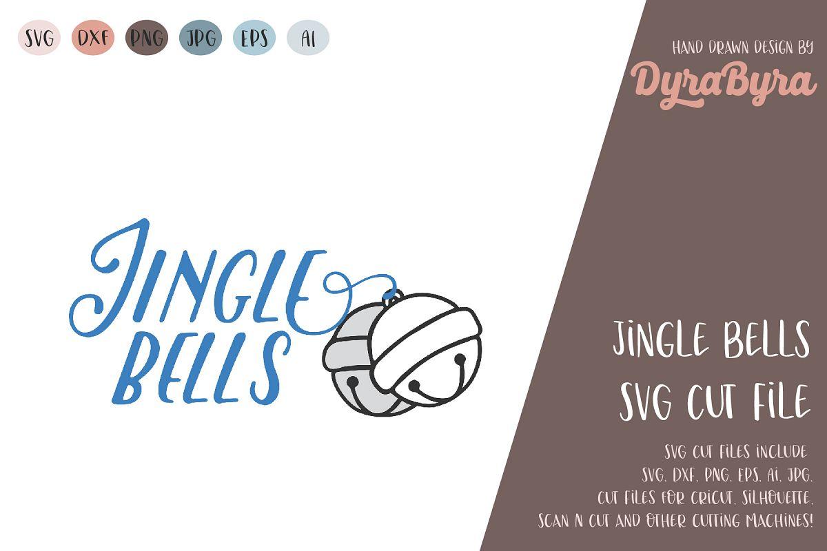Jingle Bells SVG / Christmas SVG Cut File example image 1