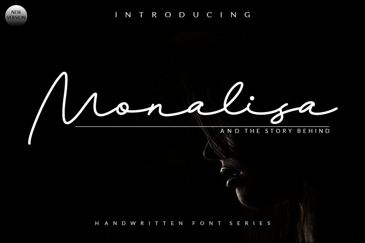 Monalisa Script example image 1