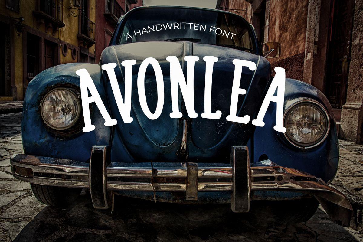 Avonlea Retro Font example image 1
