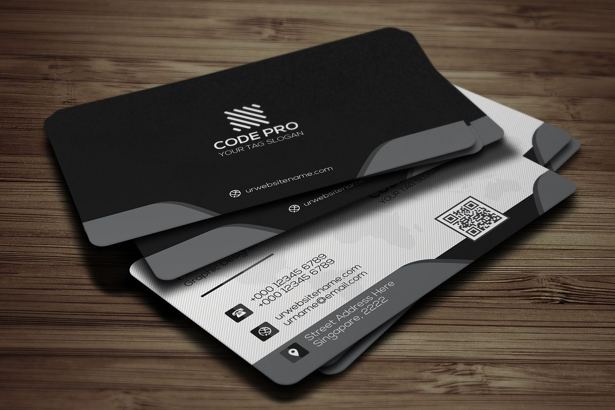 Modern Business Card example image 1
