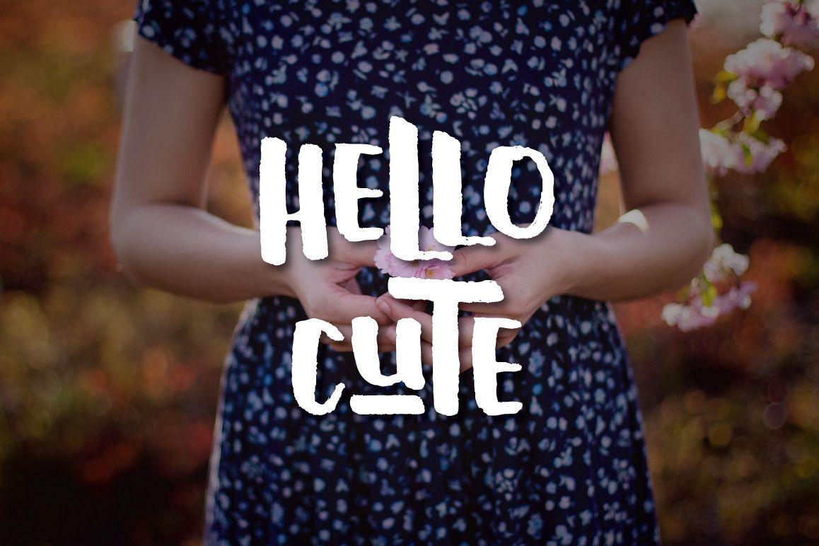 Hello Cute example image 1