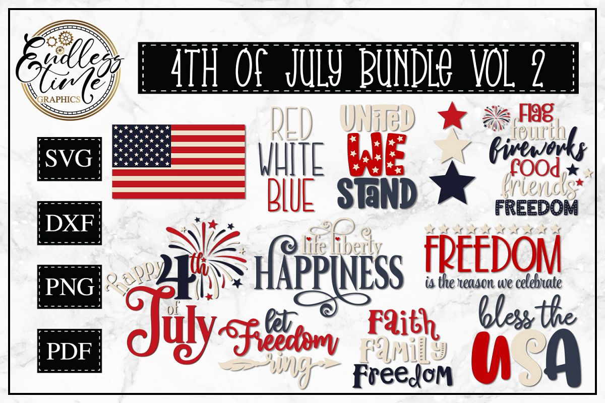 4th of July Bundle Volume 2 - A Patriotic Bundle example image 1